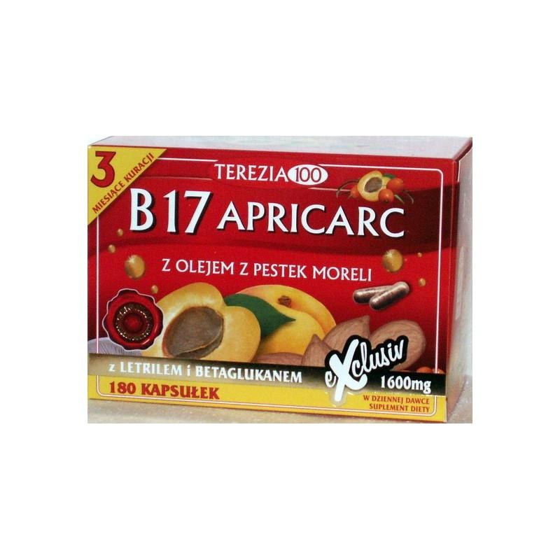 Witamina B17 Apricarc amigdalina Pestki moreli reishi boczniak