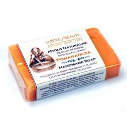 Mydło naturalne Pomarańczowe do skóry mieszanej i tłustej