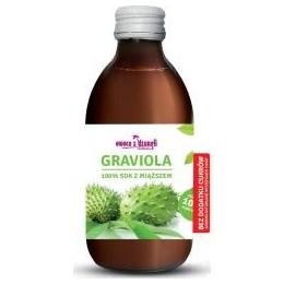 Sok z miąższem z owoców Gravioli 100% 500ml