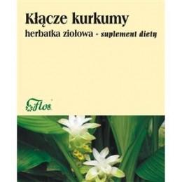 Kłącze kurkumy. Herbata ziołowa. suplement diety 100g