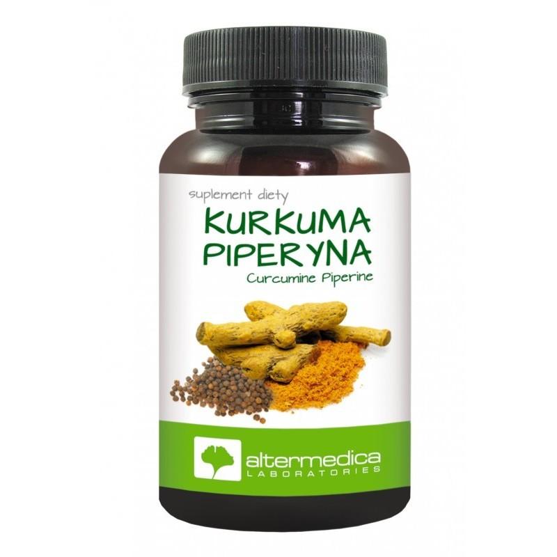 Pieperyna Kurkuma Piperyna suplement diety kapsułki