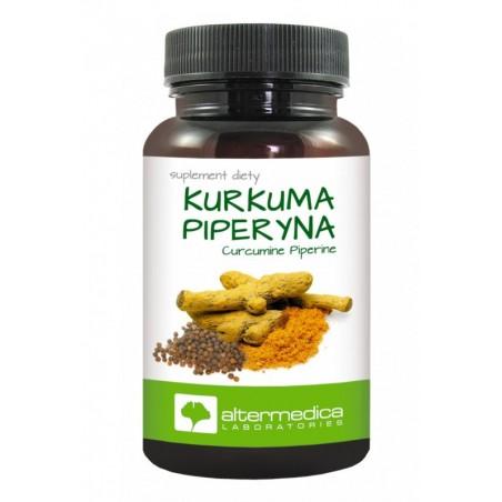 Piperyna Kurkuma Piperyna suplement diety kapsułki