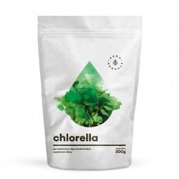 Chlorella w proszku 200g alga słodkowodna - chlorofil