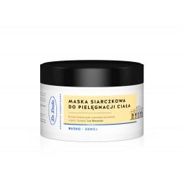 Maska siarczkowa do pielęgnacji ciała Hypoalergiczna-SPA (krem) Dr Duda 200g