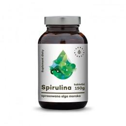 Spirulina Tabletki suplement diety - 600 tabletek Produkty z alg Spirulina tabletki