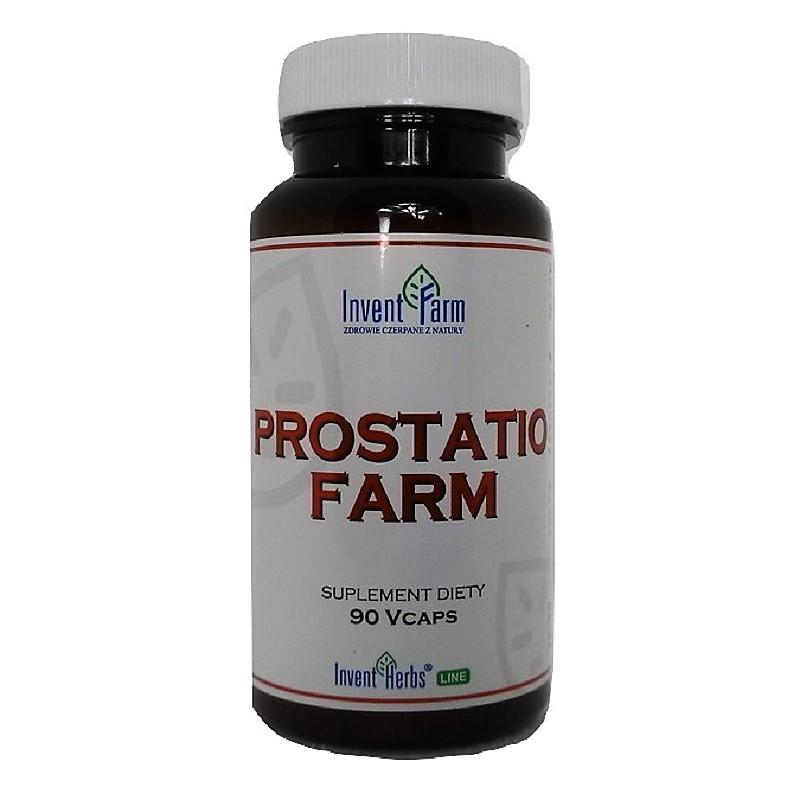 Prostatio Farm 90 kapsułek Invent Farm Prostata Pokrzywa zwyczajna Dynia Palma sabałowa