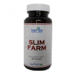 Slim Farm 90 kapsułek Invent Farm Tamaryndowiec Zielona Herbata Gorzka Pomarańcza Pokrzywa Pieprz Cayene Odchudzanie