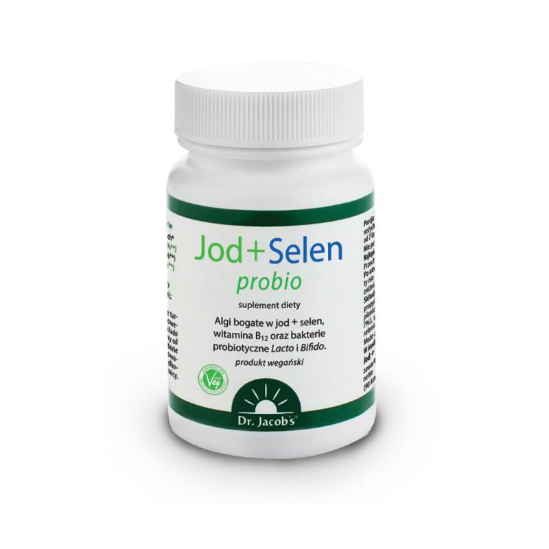 Jod + Selen probio 90 kapsułek Dr Jacobs