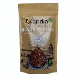 Siemię lniane ziarno 200g Olandia lignany kwasy tłuszczowe Omega-3