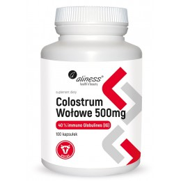 Colostrum wołowe 500mg 40%...