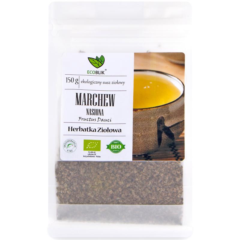 nasiona marchwi do przygotowania aromatycznego naparu.
