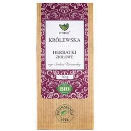 Królewska herbatka ziołowa to kompozycja aromatycznych ziół