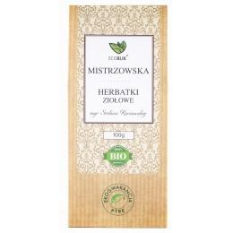 Herbatka Mistrzowska to niezwykła receptura mgr Stefanii Korżawskiej znawczyni ziół, eksperta w dziedzinie ziołolecznictwa.