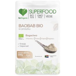 Baobab Bio w proszku 200g...