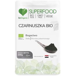 Czarnuszka jest źródłem białka i błonnika pokarmowego.