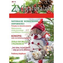 """Czasopismo """"Żyj Naturalnie"""" listopad grudzień 2019 numer 15"""