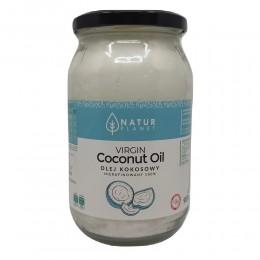 Olej kokosowy nierafinowany 900ml Virgin z pierwszego tłoczenia