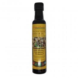 Sacha Inchi Omega 3 6 9 Olej nierafinowany, tłoczony na zimno olej z pierwszego tłoczenia z Plukenetia volubilis Orzech Inków