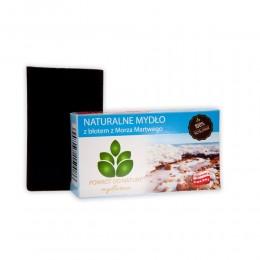 """Naturalne mydło z błotem z Morza Martwego 100 g - błoto Morze Martwe Mydlarnia """"Powrót do Natury"""""""