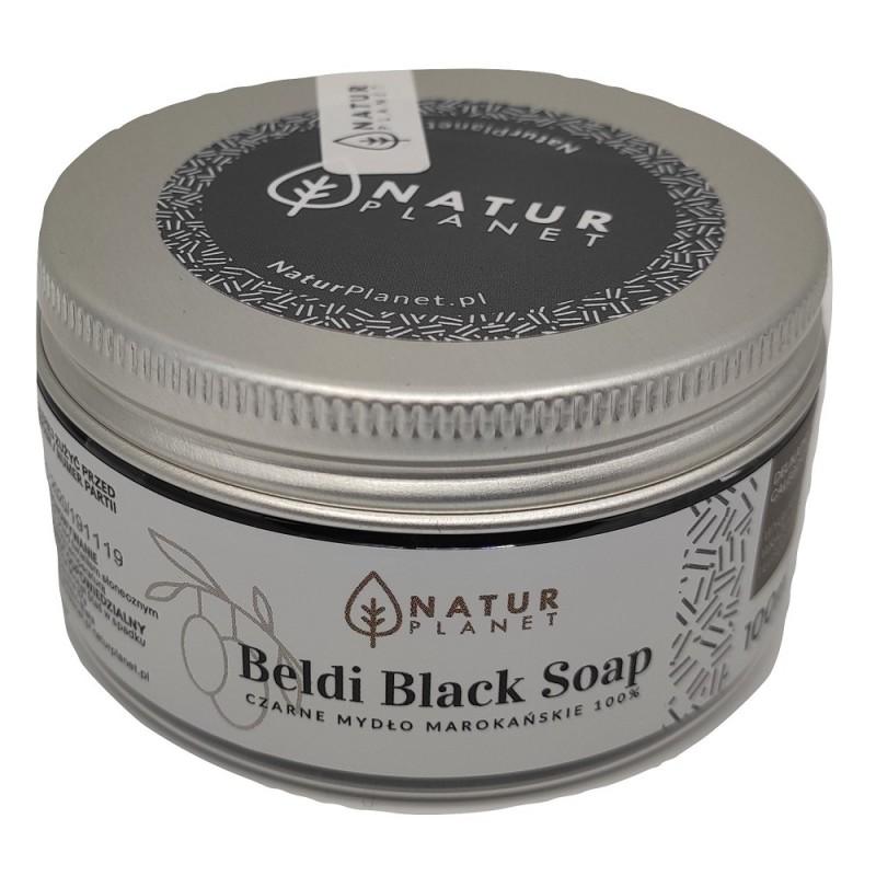 Czarne mydło marokańskie to delikatny gęsty żelowy peeling całego ciała.