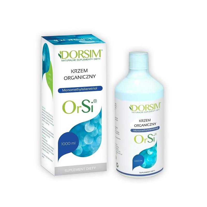 OrSi przyswajalny Krzem organiczny w płynie 1000 ml
