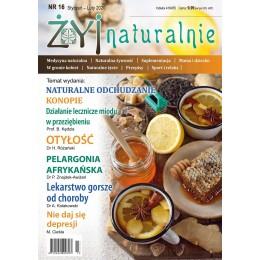 """Czasopismo """"Żyj Naturalnie"""" styczeń luty 2020 numer 16"""