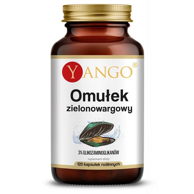 Liofilizowana nowozelandzka małża zielona standaryzowana na 3% glikozaminoglikanów.