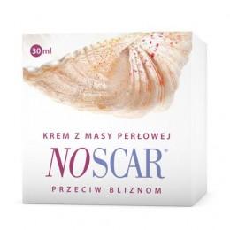 NoScar Krem z masy perłowej NoScar krem przeciw bliznom NoScar wygładza blizny NosCar Łagodzi ślady trądziku