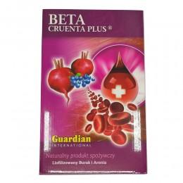 Beta Cruenta Liofilizowany i micelizowany burak z aronią Beta Cruenta Plus