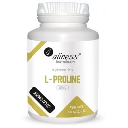 L-Proline 500mg 100 kaps.