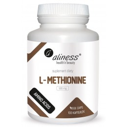 L-Methionine 500 mg 100 kaps