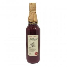 Sok malinowo porzeczkowy malina czarna porzeczka przecierowy syrop lekko słodzony 500 ml Rubus idaeus
