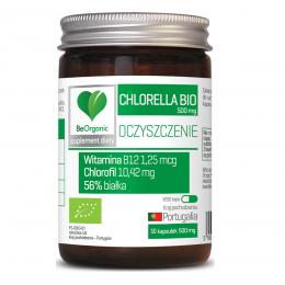 Chlorella bio 500mg 50 kaps...