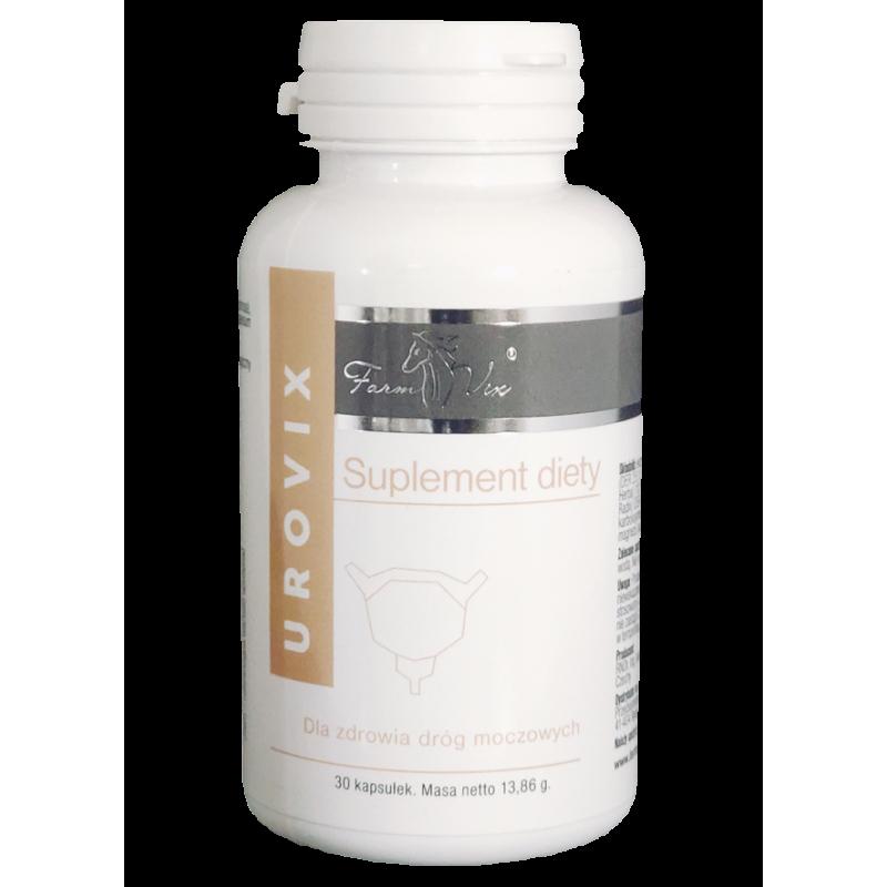 UROVIX Dla zdrowia dróg moczowych ekstrakt borówka brusznica Vaccinum vitis nasturcja większa Tropaeolum maius i mannoza