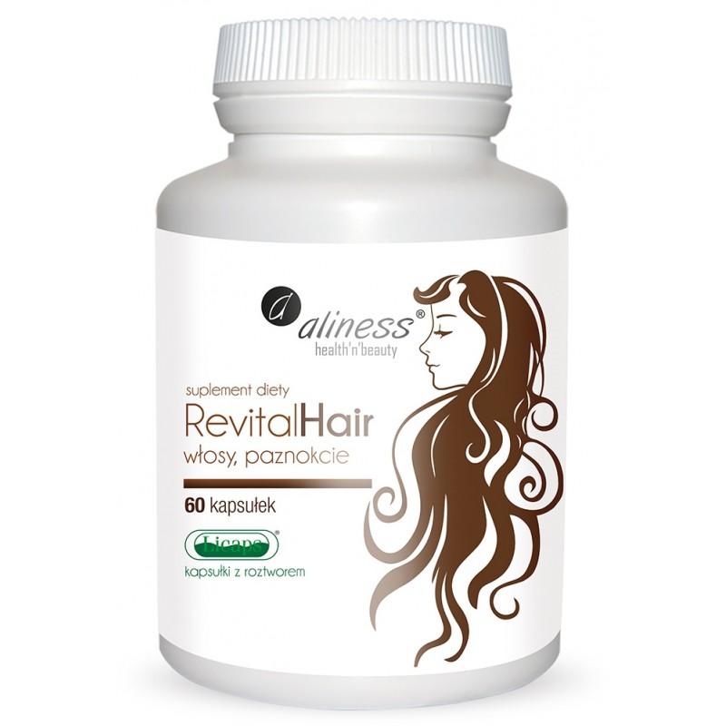 Revitalhair 60 kaps. suplement diety wzmacniający włosy