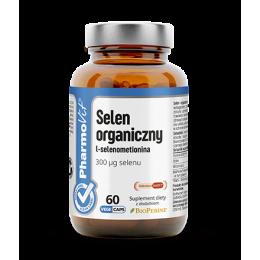 Selen organiczny 300µg 60 kaps. Pharmovit Selenium SeLECT  selen L-selenometionina witamina E Bio Perine