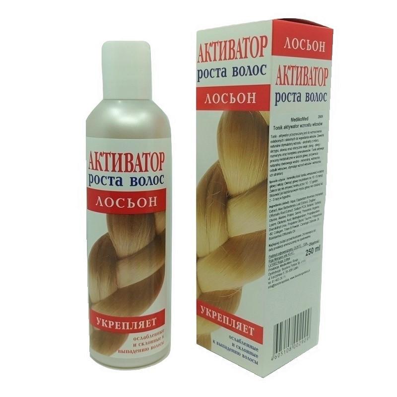 Tonik - spray aktywator wzrostu włosów 250ml ekstrakty z imbiru skrzypu aloes olejki eteryczne ylang - ylang  rozmaryn