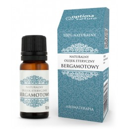 Naturalny olejek eteryczny bergamotowy 10 ml Optima Natura