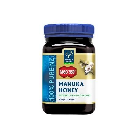 Miody Manuka Miód Manuka MGO 550+(500g)