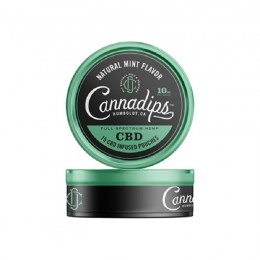 Cannadips CBD 15x10 mg saszetek CBD smak Natural Mint