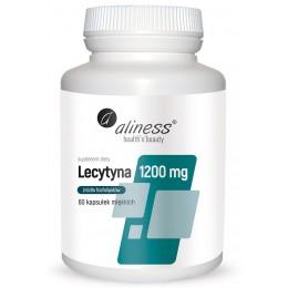 Lecytyna 1200 Mg  60 kaps....