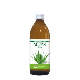 Sok z aloesu 500 ml Naturalny sok z aloesu bez konserwantów