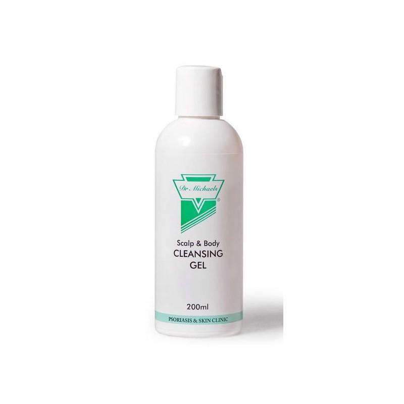 Łuszczyca Żel myjący 200 ml Dr Michaels Scalp & Body Cleansing Gel