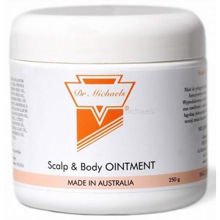 Łuszczyca Maść 250g Dr Michaels (Scalp & Body Ointment) Maść do pielęgnacji skóry