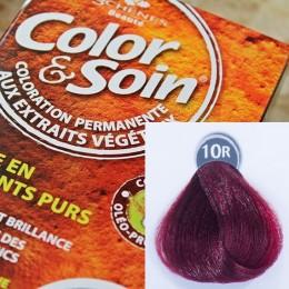 Trwała farba Color & Soin intensywny czerwony 10R