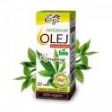 Naturalny olej konopny BIO - 50ml naturalny olej z konopi