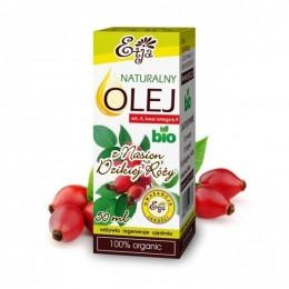 Naturalny olej z nasion dzikiej róży BIO 50ml olej z dzikiej róży