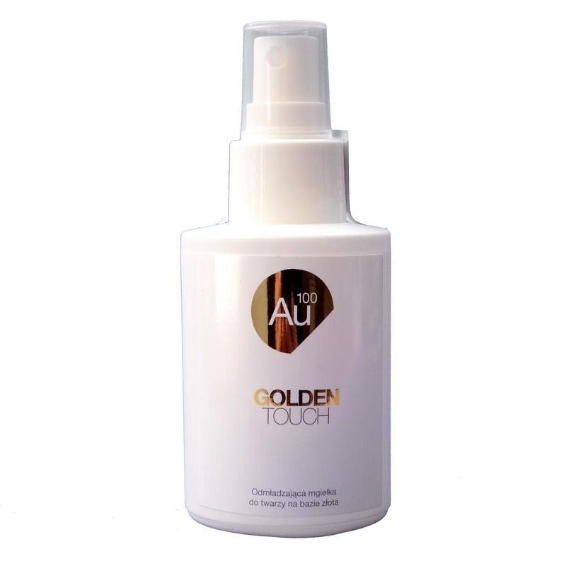 Mgiełka do twarzy Au100 Mgiełka zawierająca monoatomowe cząsteczki złota, Golden Touch 100 ml
