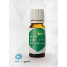 Pure Oregano Oil Czysty olejek oregano Lebiodka Pospolita 10 ml