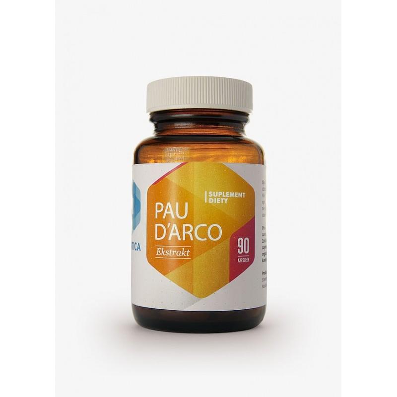 Pau D'Arco Ekstrakt z wewnętrznej kory drzewa Lapacho Herbata Inków